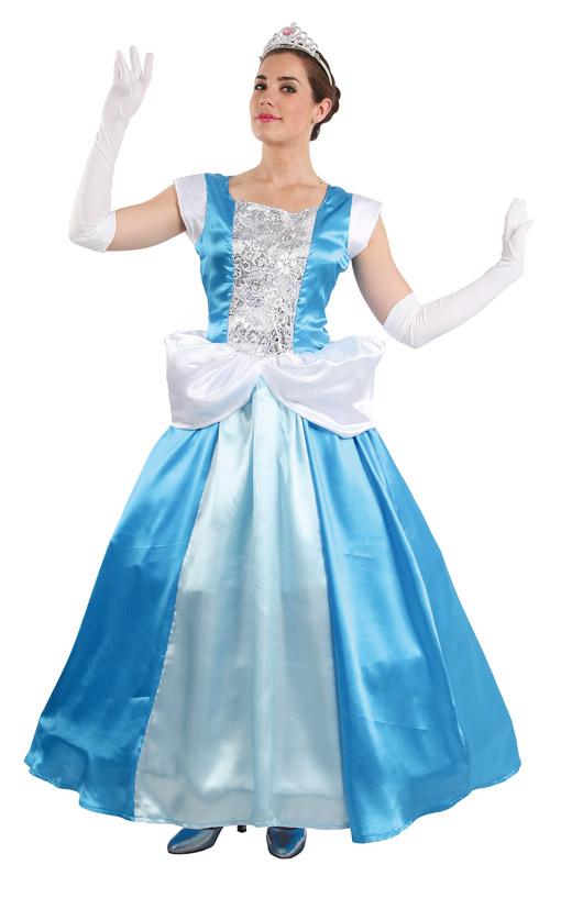 disfraz de cenicienta para mujer talla ml fy1659 42 - Disfraces de princesas infantiles para fiestas