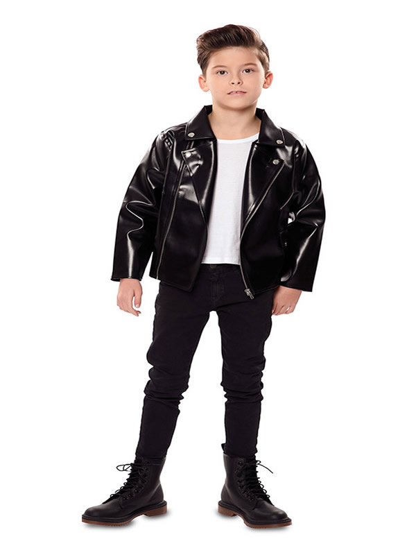 disfraz de chaqueta grease para niño