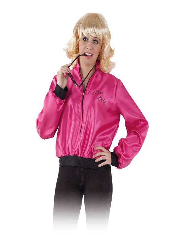 disfraz de chaqueta pink ladies mujer