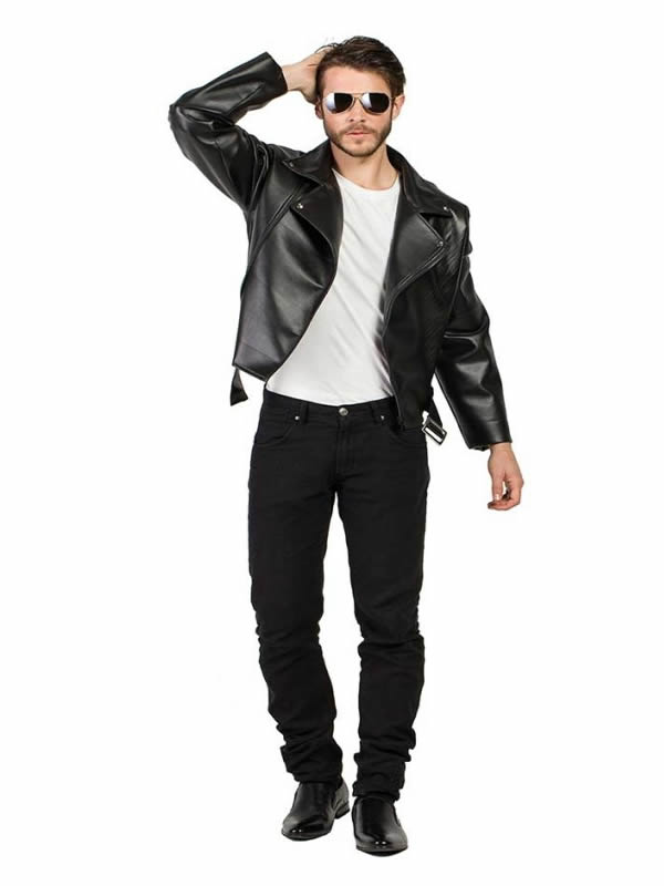 disfraz de chaqueta travolta hombre