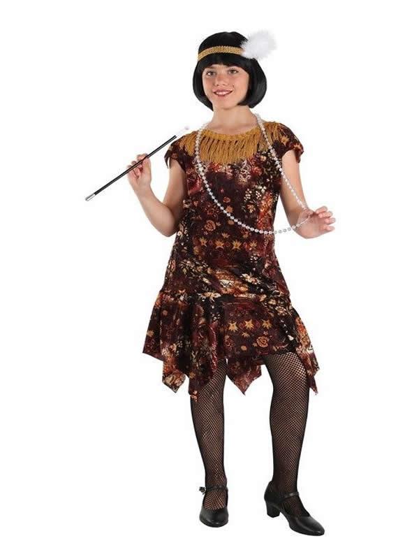 disfraz de charleston clasica niña
