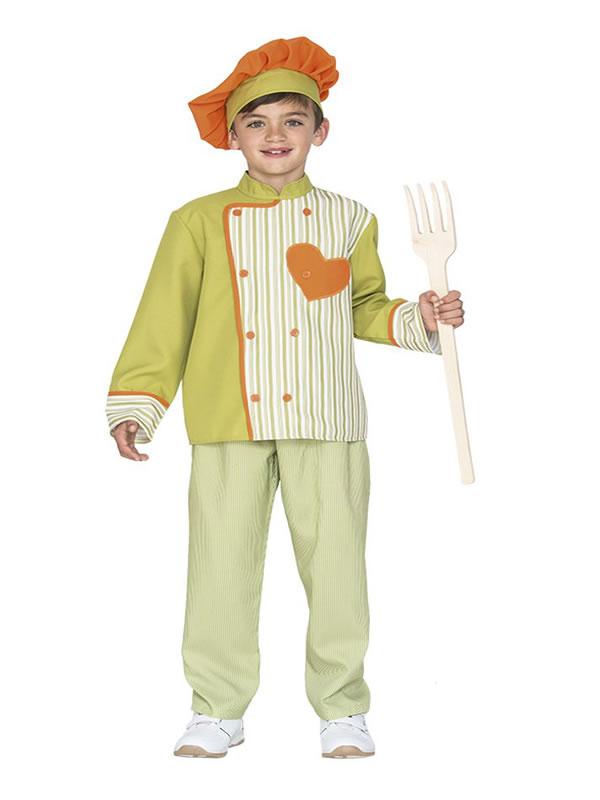 disfraz de chef chicote para niño