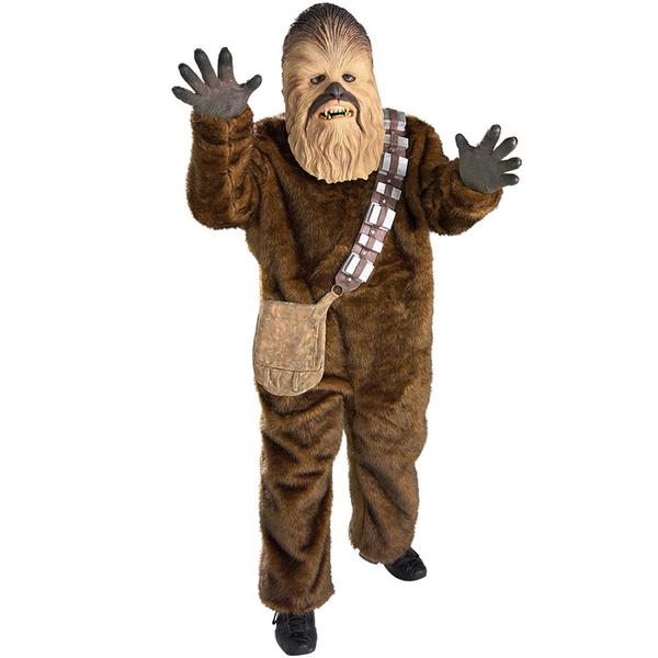 disfraz de chewbacca deluxe nino fu10726 - Ideas para disfrazarse de Disfraces en Pareja Infantiles