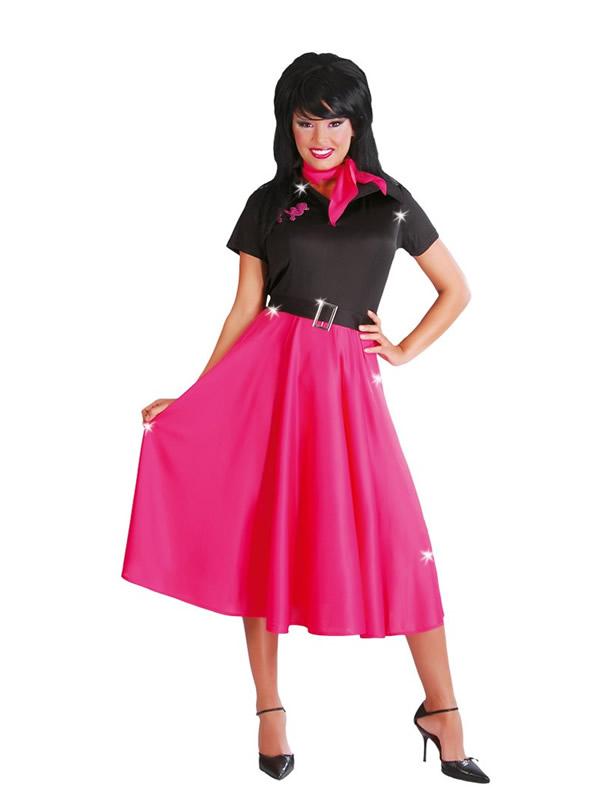 disfraz de chica a os 50 retro mujer comprar barato