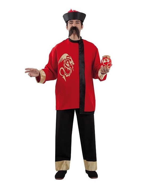 disfraz de chino oriental clasico hombre