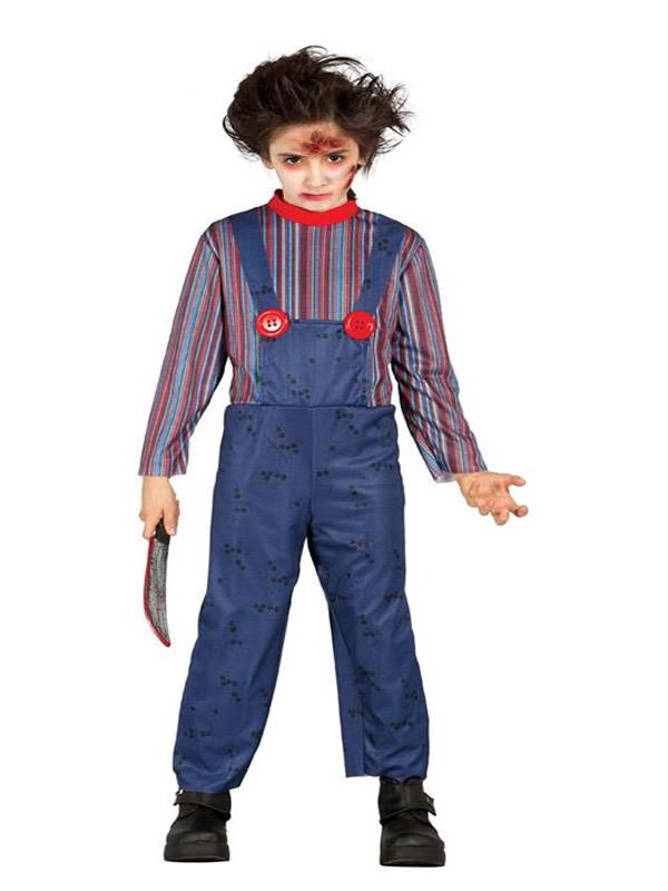 disfraz de chucku muneco para nino gui85477 - Los 10 mejores Disfraces Infantiles para Halloween