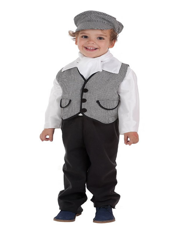 disfraz de chulapo madrileño con chaleco niño