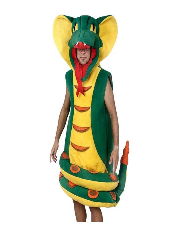 disfraz de cobra para hombre