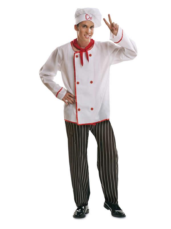 disfraz de cocinero chef hombre