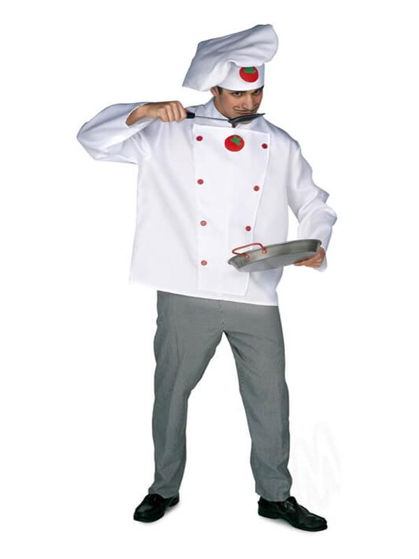 disfraz de cocinero para hombre adulto
