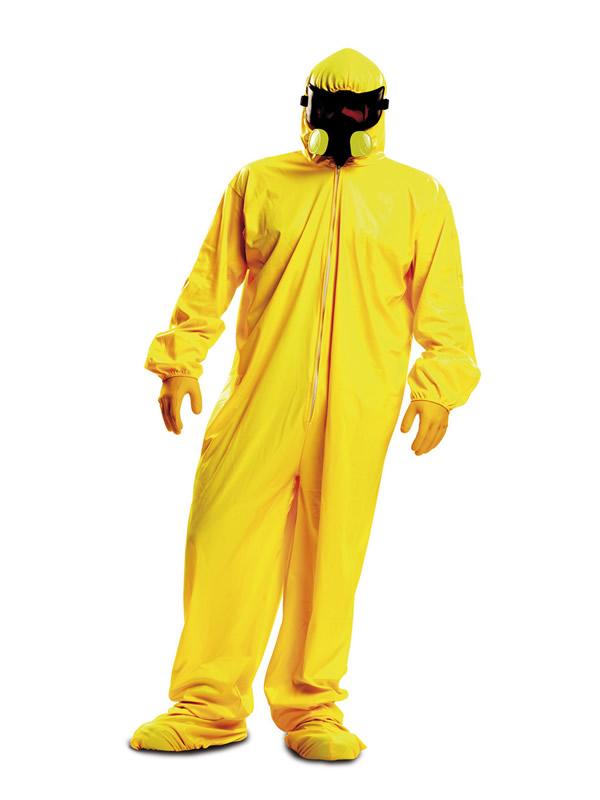 disfraz de cocinero quimico para hombre
