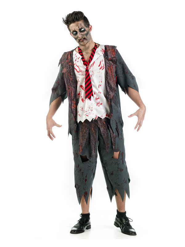 disfraz de colegial zombie hombre MA641 - Los 10 mejores Disfraces de Halloween adultos para elegir