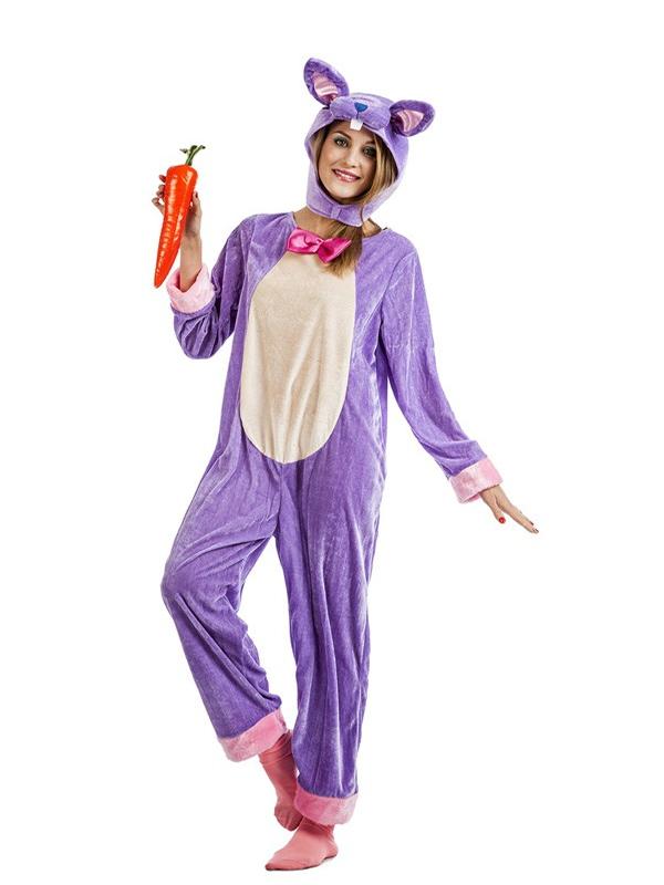 disfraz de conejo lila mujer, comprar barato | DisfracesMimo