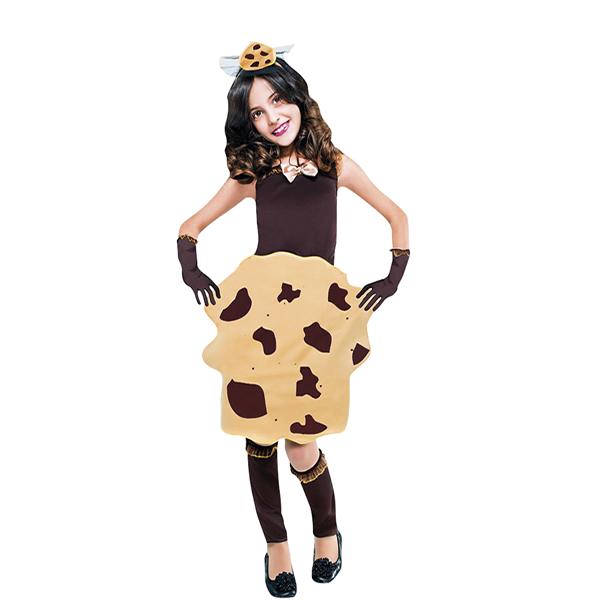 disfraz de cookie infantil