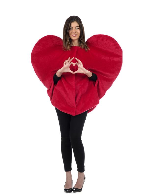 disfraz de corazón para mujer