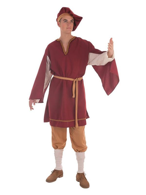 disfraz de cortesano medieval para hombre