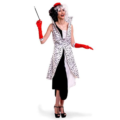disfraz de cruela de vil mujer egl06964 - Grandes ideas de disfraces de parejas para el carnaval.
