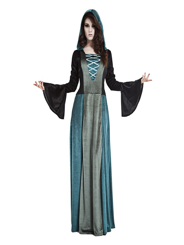 disfraz de dama siniestra oscura mujer