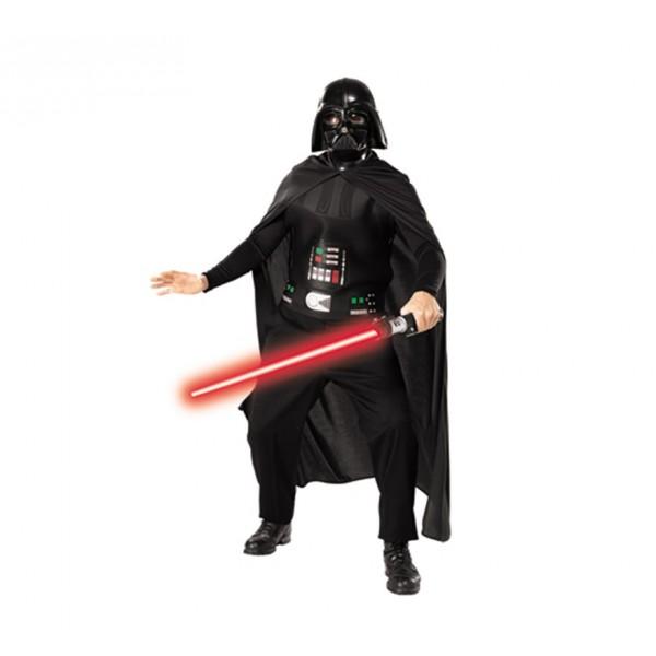 disfraz de darth vader con espada star wars