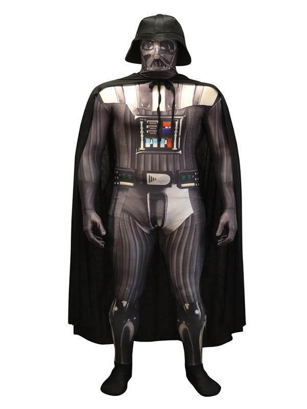 disfraz de darth vader deluxe morphsuit hombre