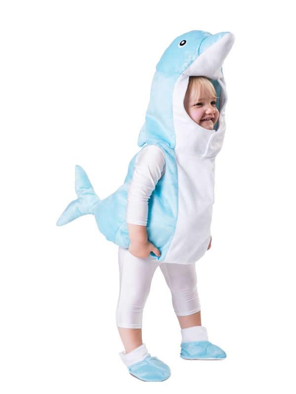 disfraz de delfin para niño