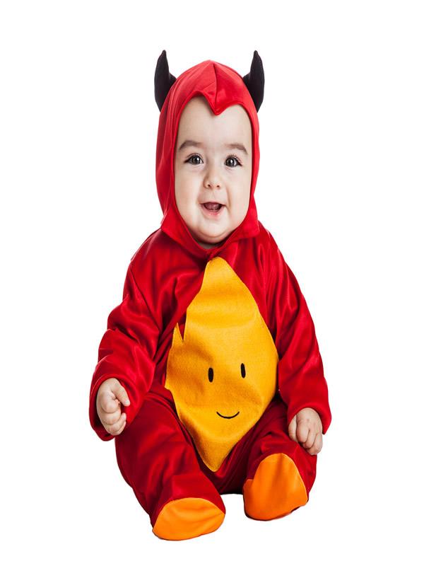disfraz de demonio bebe