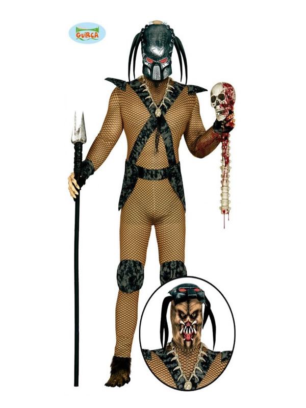 disfraz de depredador hombre