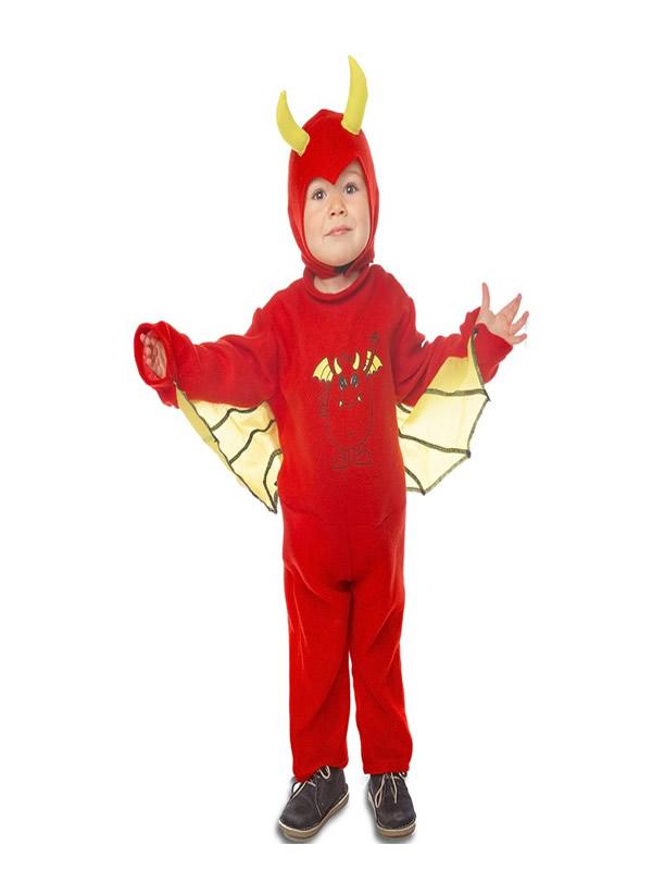 disfraz de diablo con alas para niño