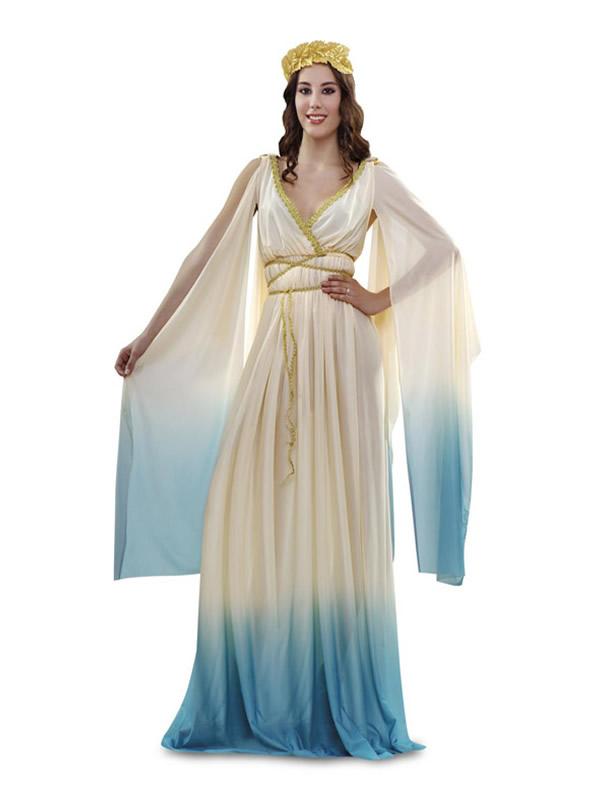 disfraz de diosa griega mujer