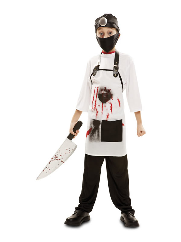 disfraz de doctor killer para niño