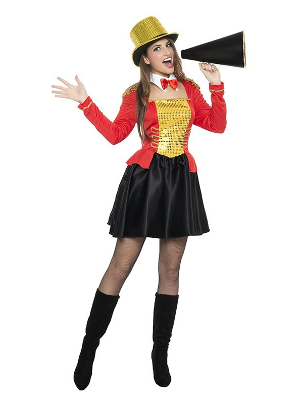 disfraz de domadora de circo mujer