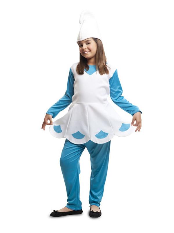 disfraz de duende azul para niña 52c877e336a
