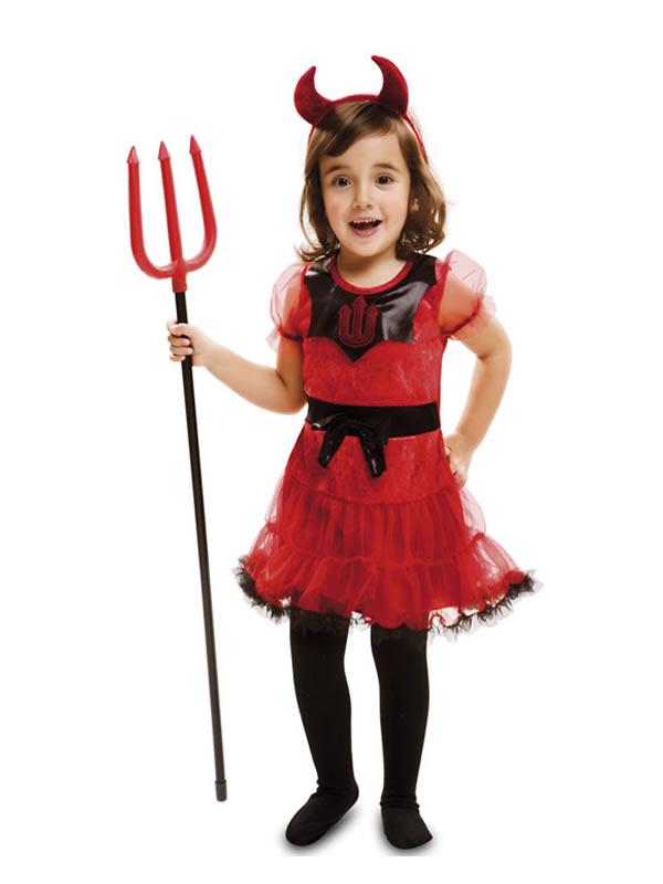 disfraz de dulce diablesa para bebe y niña