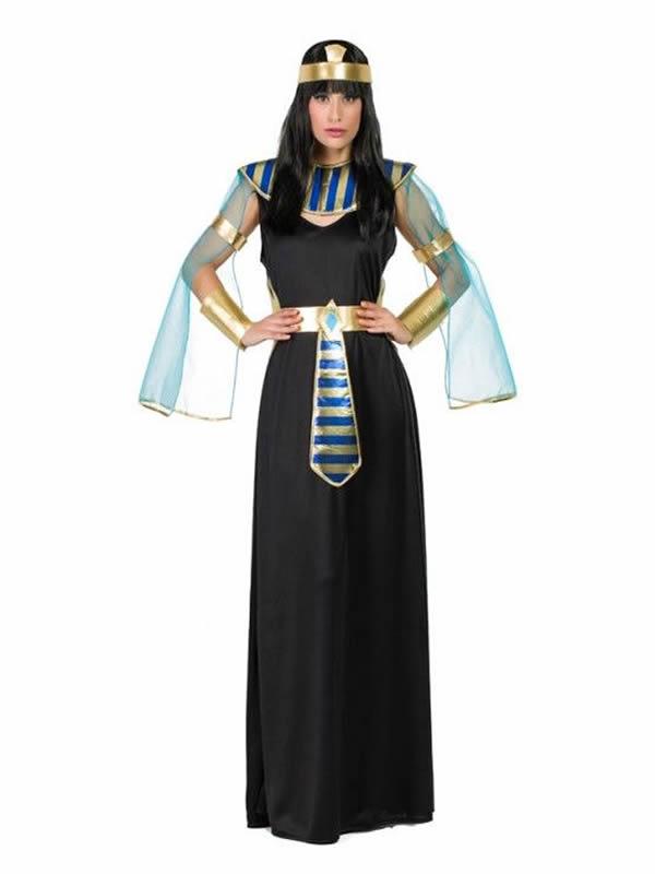 disfraz de egipcia negra mujer