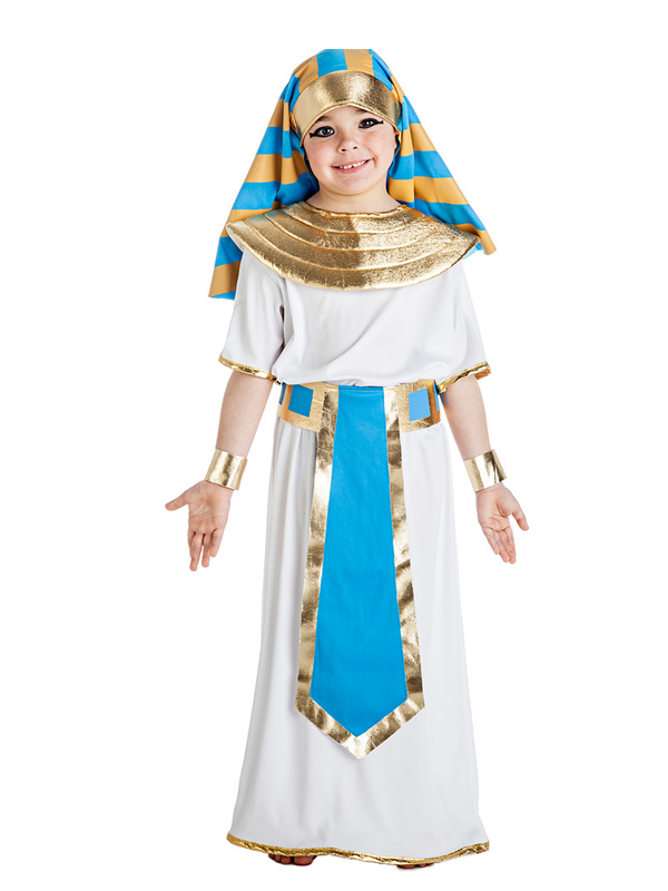 disfraz de egipcio para niño