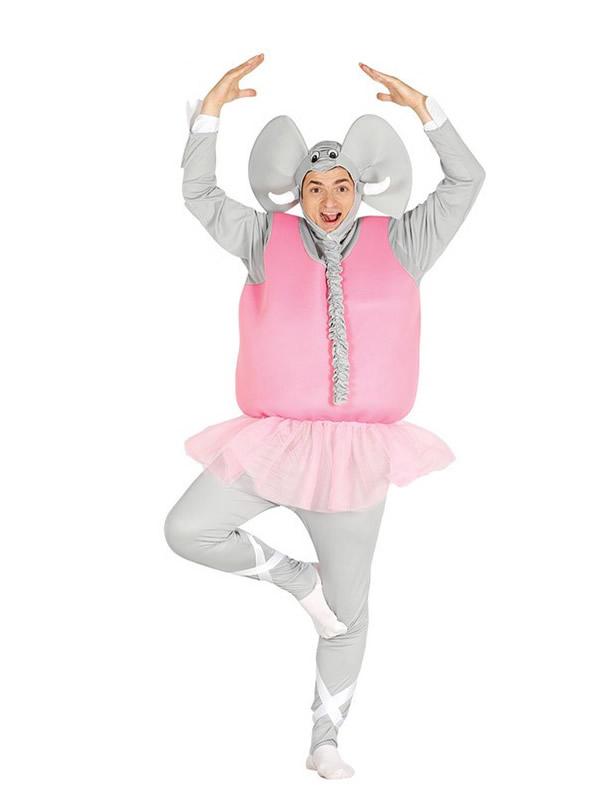 disfraz de elefante bailarín tutu hombre