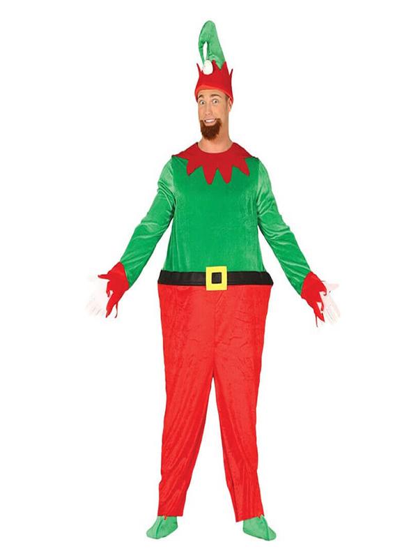 disfraz de elfo barrigon para hombre