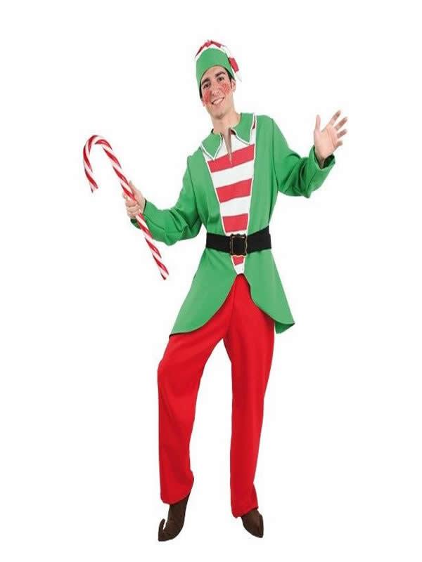 disfraz de elfo para navidad hombre