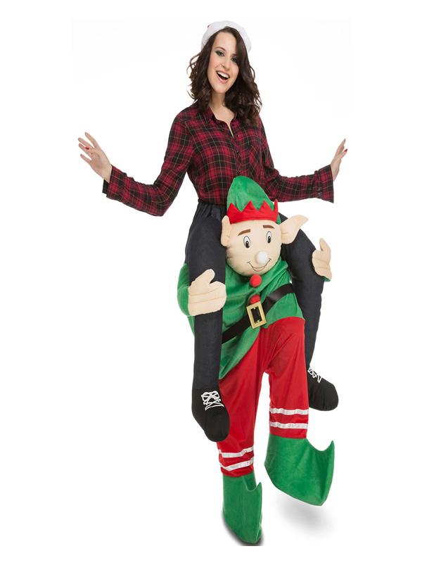 disfraz de elfo ride on en hombros para adulto