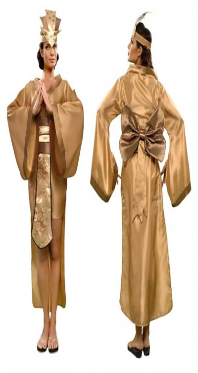 disfraz de emperatriz china mujer