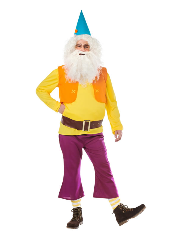 disfraz de enanito amarillo para hombre