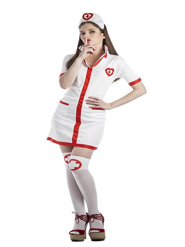 disfraz de enfermera sexy mujer k0105 - Como organizar una fiesta de despedidas de soltera con disfraces y complementos