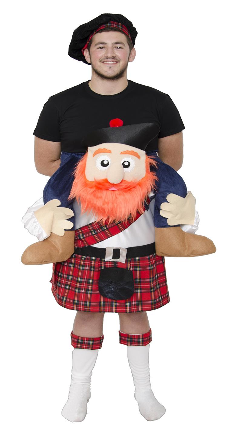 disfraz de escoces hombre