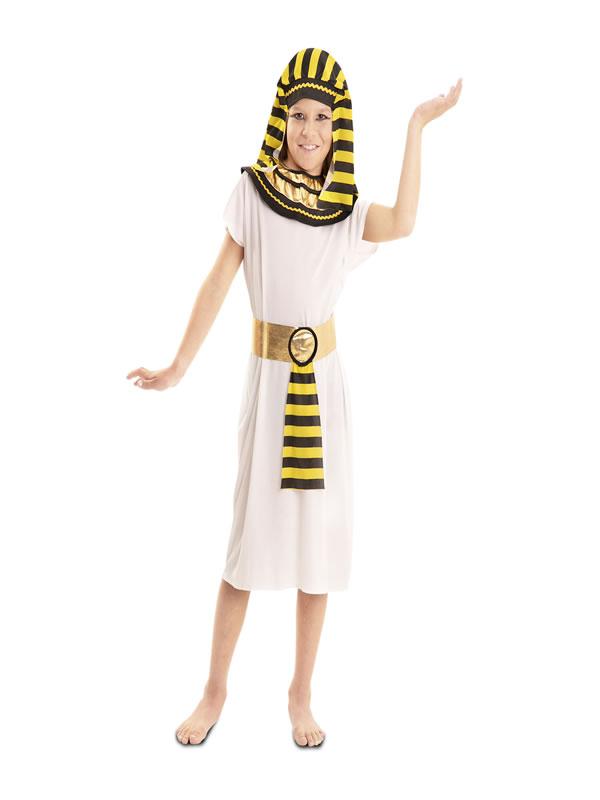 disfraz de faraon para niño