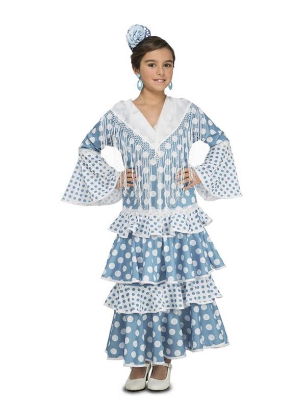 disfraz de flamenca guadalquivir para niña