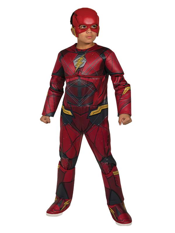 disfraz de flash la liga de la justicia niño