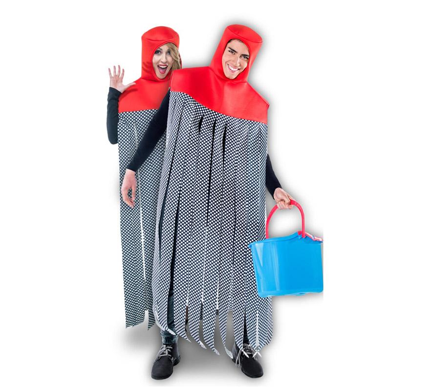 disfraz de fregona vileda para adultos