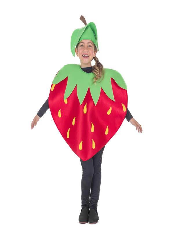 disfraz de fresa para infantil