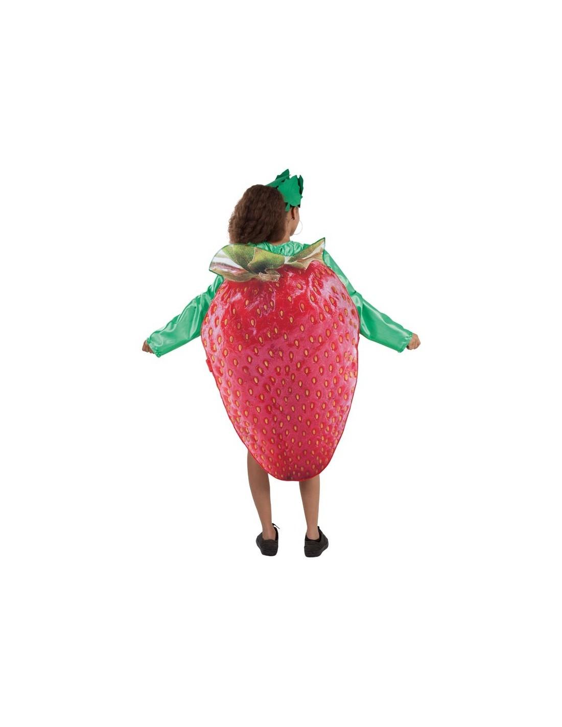 disfraz de fresa para mujer