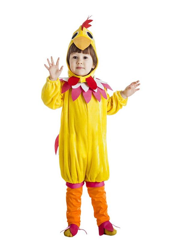 disfraz de gallina amarilla infantil k1225 - Los 10 mejores disfraces de animales infantiles para comprar